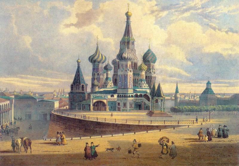 рисунки москвы: